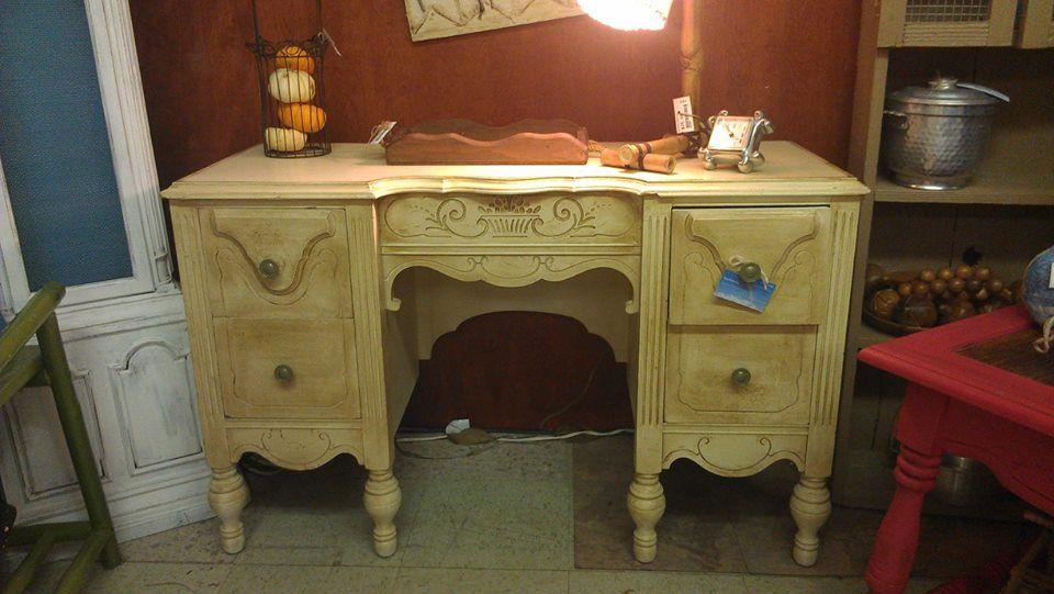 "Super cute petite desk, only $149!  44"" wide, 28"" high, 18"" deep"