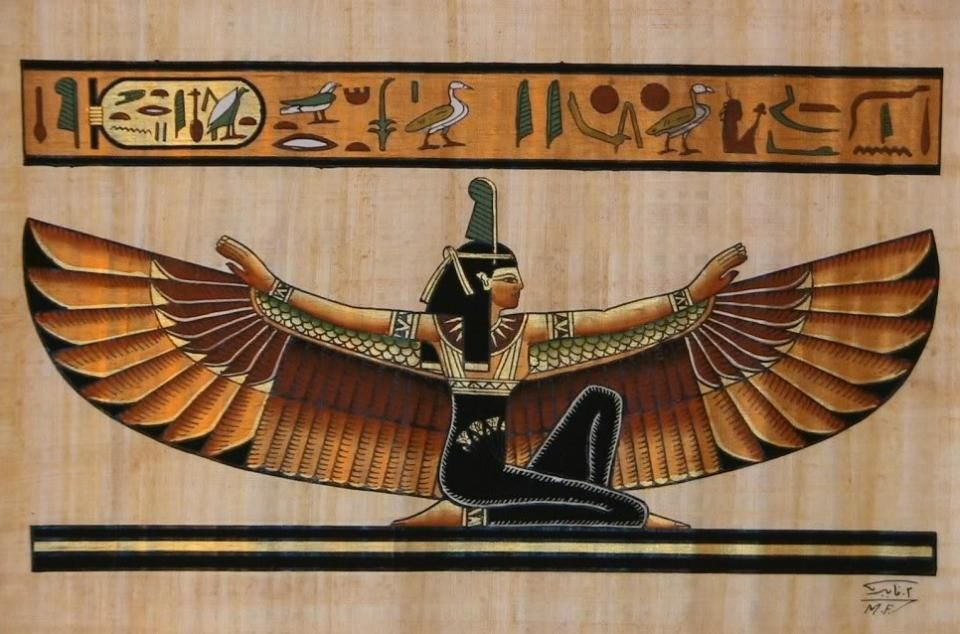 As the wife of Osiris, Isis came to fame as the mother of Horus. Because every Pharaoh was considered to be Horus, Isis continue to be very important. f