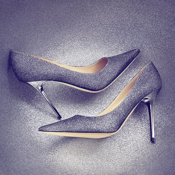 A shimmer of glitter to get your #saturdaynight started early #shoeoftheday