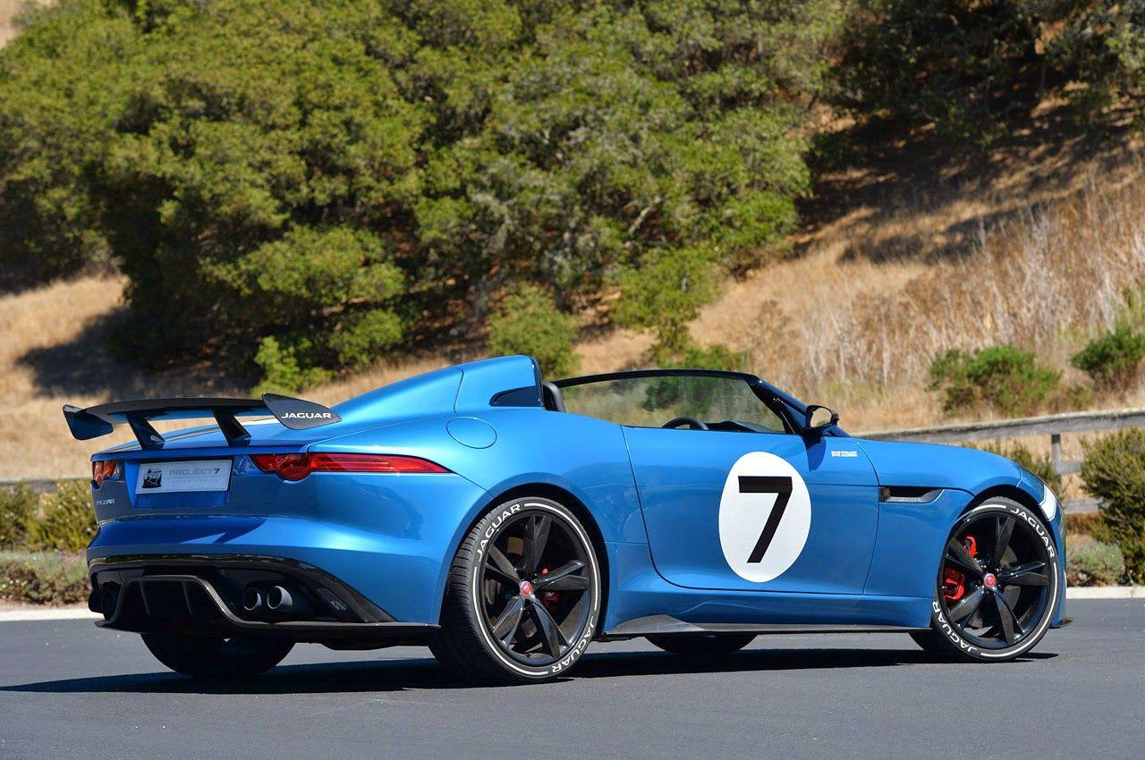 FAB WHEELS DIGEST (F.W.D.): 2015 Jaguar F-Type Project 7 ...