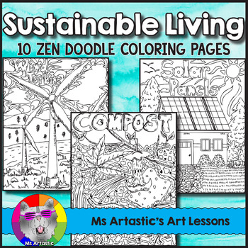 Earth Day Coloring Pages Sustainable Living Zen Doodles Earth Day Coloring Pages Coloring Pages Zen Doodle