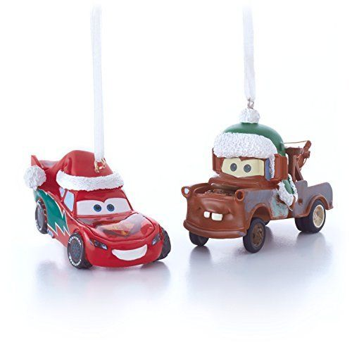 Hallmark Disney-Pixar Lightning McQueen and Tow Mater Christmas ...