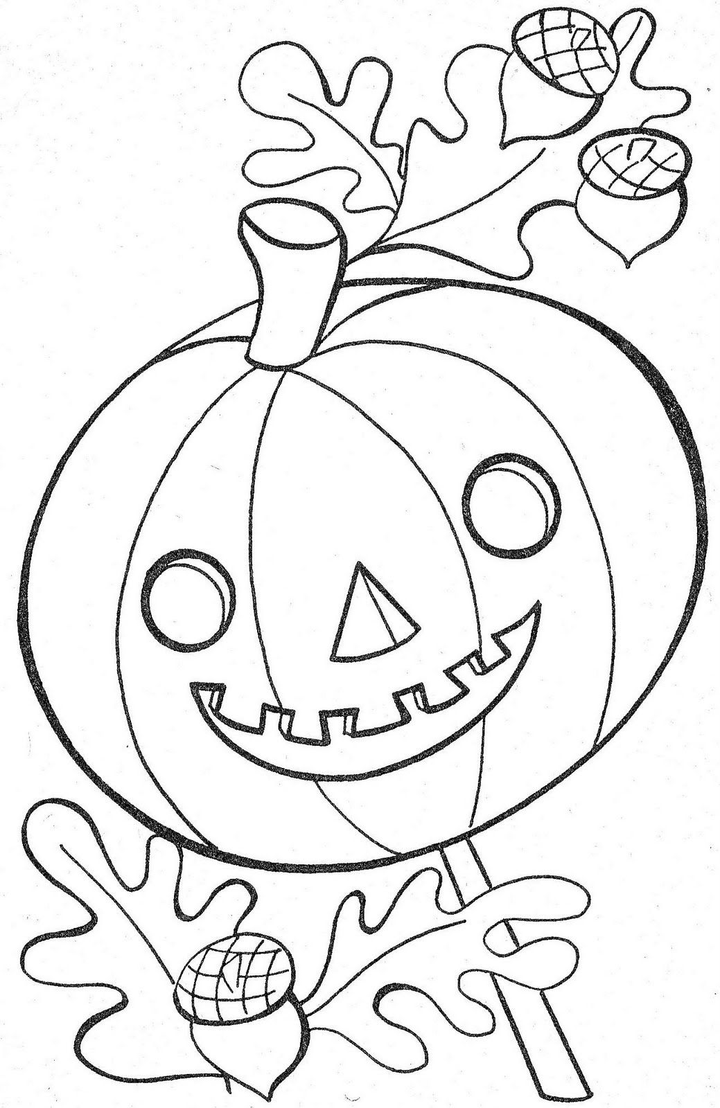 Things To Color Halloween Coloring Sheets Fall Coloring Pages Vintage Coloring Books