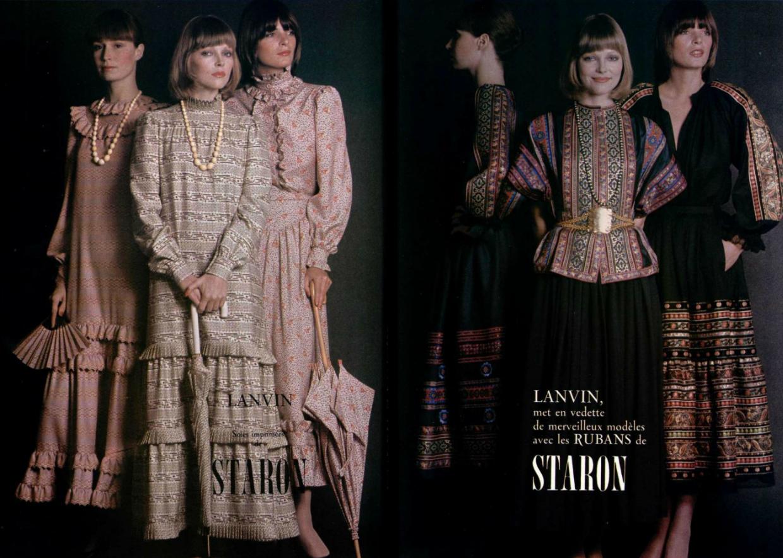 lanvin the peasant look pinterest seventies
