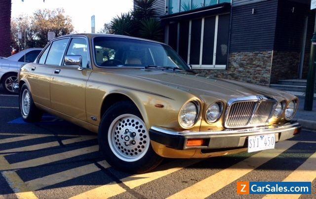 Jaguar XJ6 4.2 5 speed Manual Aust delivered 1983 series 3  Gold #jaguar #xj6 #forsale #australia