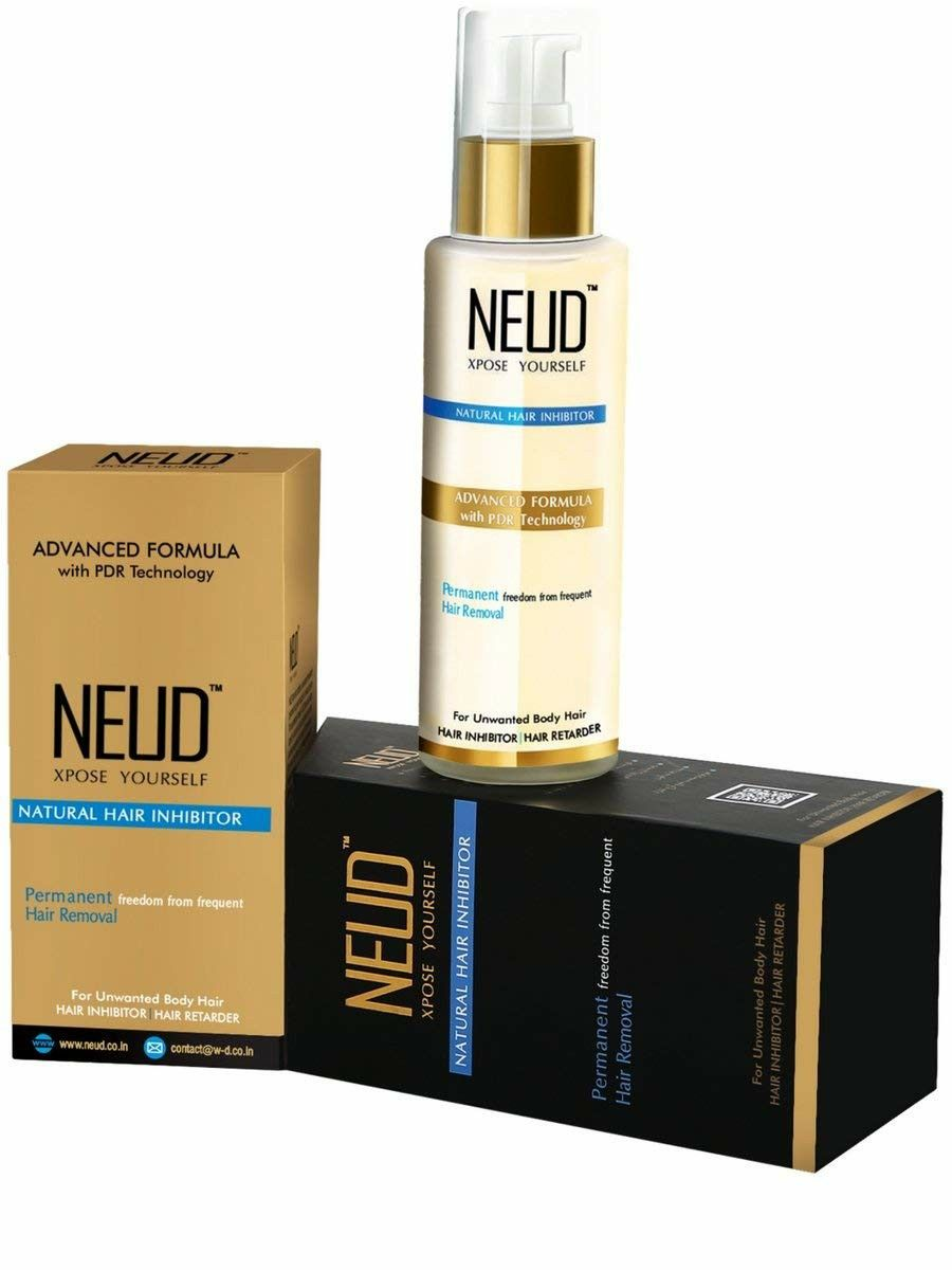Neud Natural Hair Inhibitor For Permanent Reduction Of Unwanted