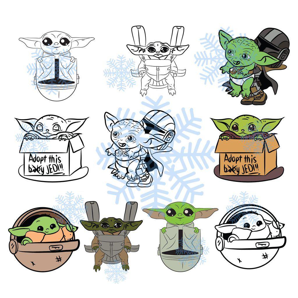 Layered Baby Yoda Svg Ideas - Layered SVG Cut File - Free ...