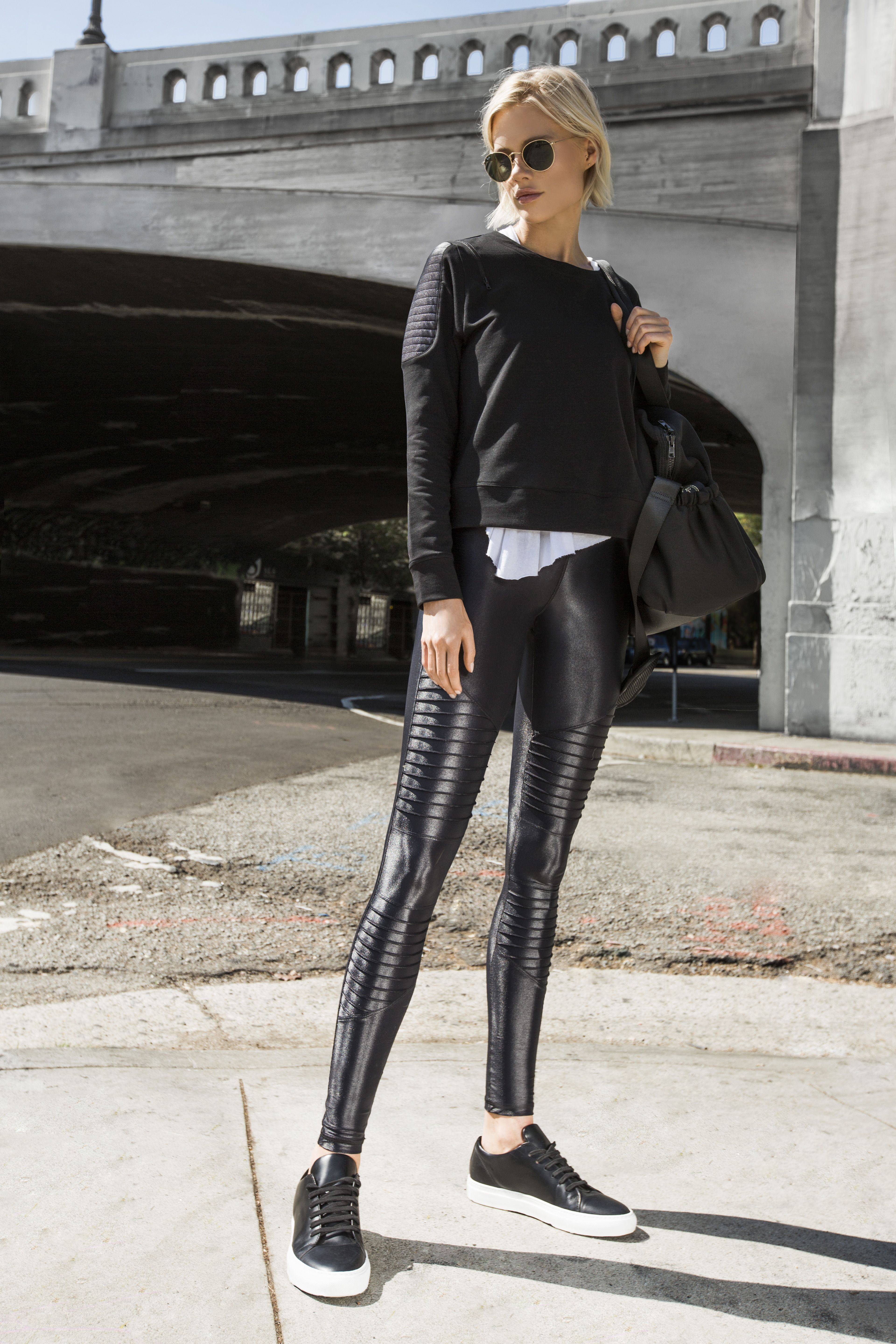 98268516f94 Carbon38 Moto Collection   C38   Moto Collection in 2019   Leggings ...