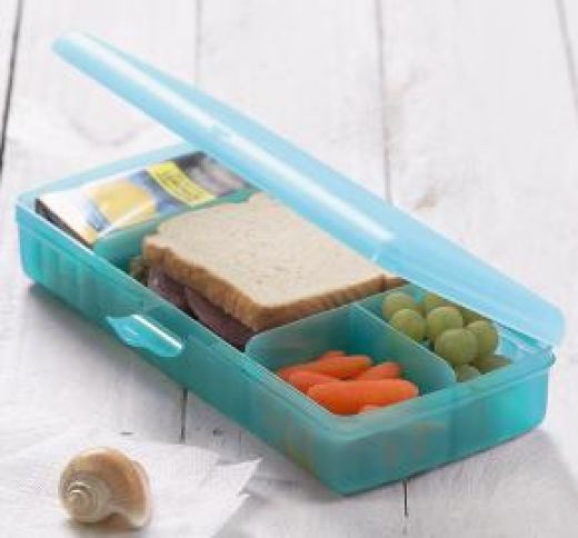 Sectioned Tupperware: Tupperware Lunch N' Things Review