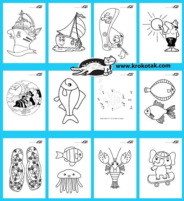180 Summer Printables | kids- Coloring pages | Pinterest | Material ...