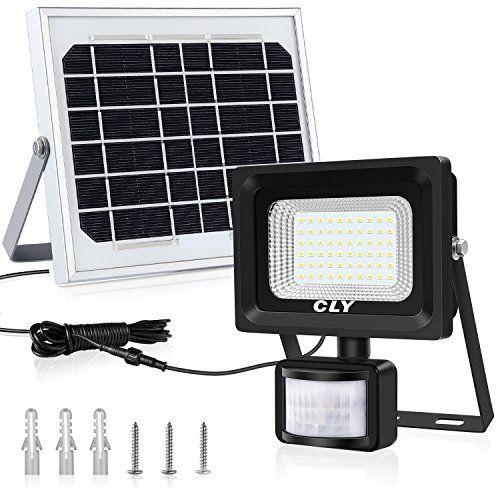 Solarlampe Fur Aussen Solar Strahler Cly 60 Led Solarleuchte Mit Bewegungsmelder Led Solar Strahler Led Solar Bewegungsmelder Solarlampe Solar Led Solarleuchte