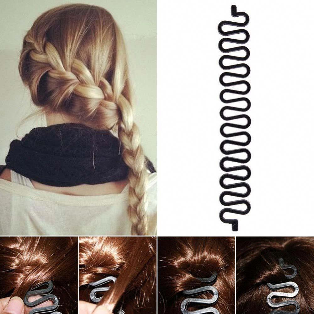 1 39 Cool 1pcs Hot Sale Fashion Women High Quality Latest Twist Handmade Hair Centipede Clip Braided Hair Clip Hair Braiding Tool Hair Styles French Hair