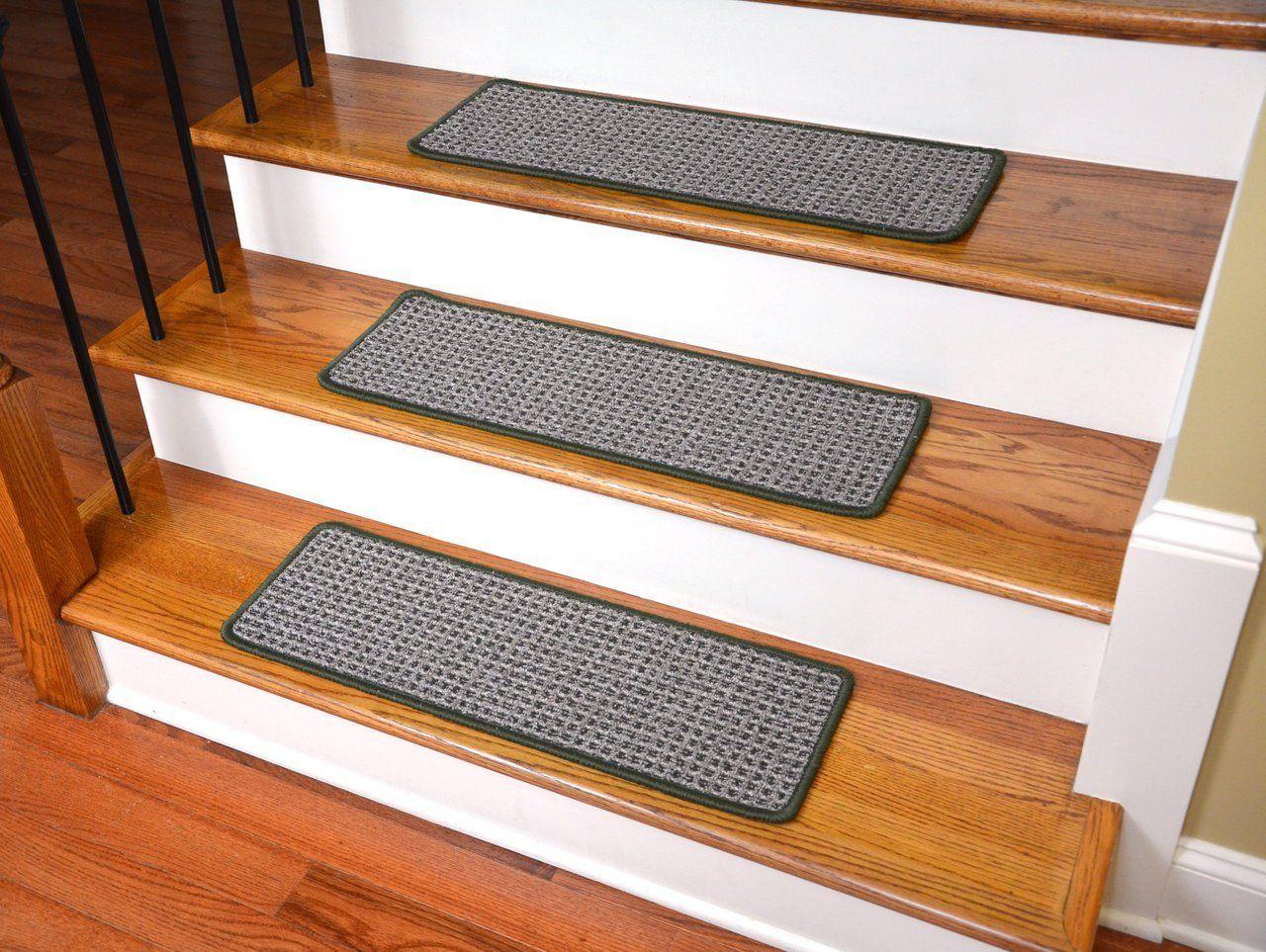 Best Washable Non Skid Carpet Stair Treads Chameleon 15 640 x 480