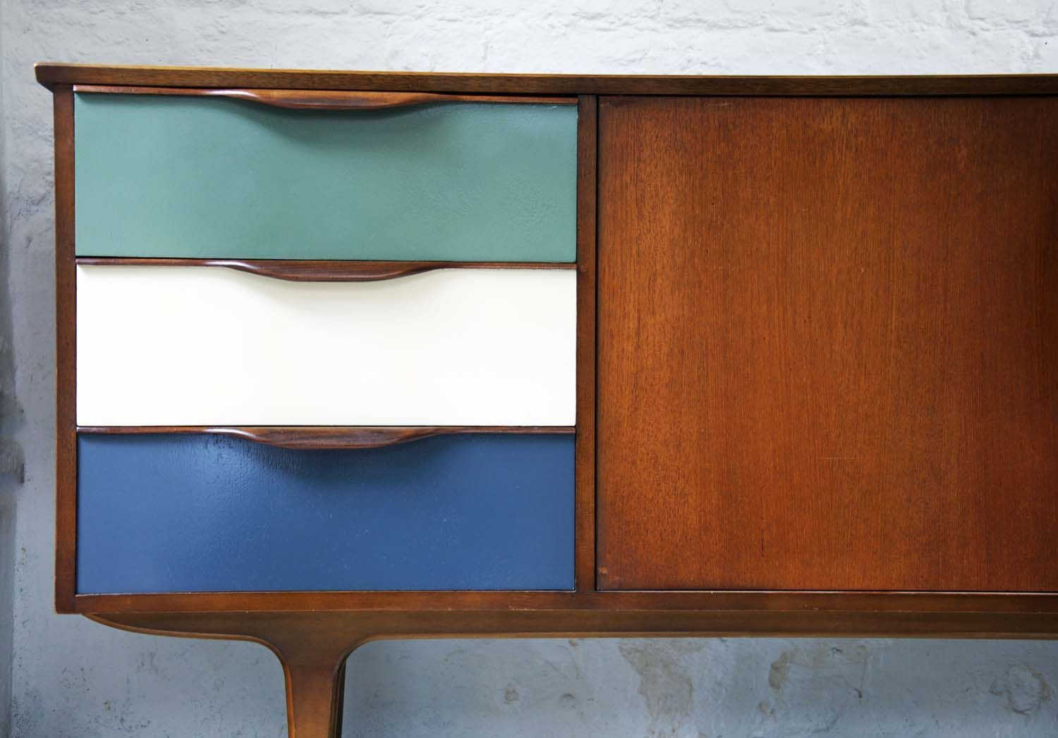 Quirky Bedroom Furniture I Love This What A Great Idea When Restoring To Add A Splash Of