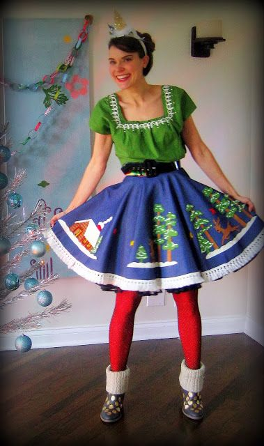 DIY Tacky Christmas outfit