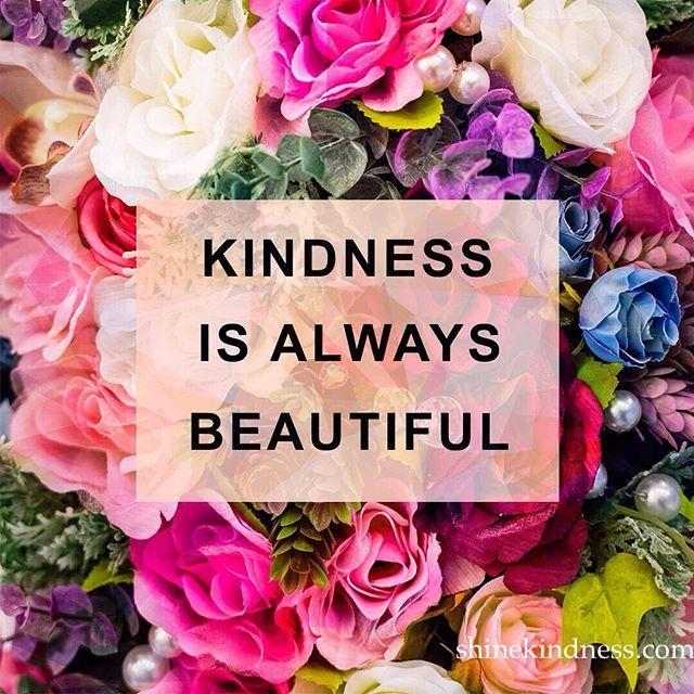 Share beauty by being kind! #beautiful #kindness #kind #bekind ...