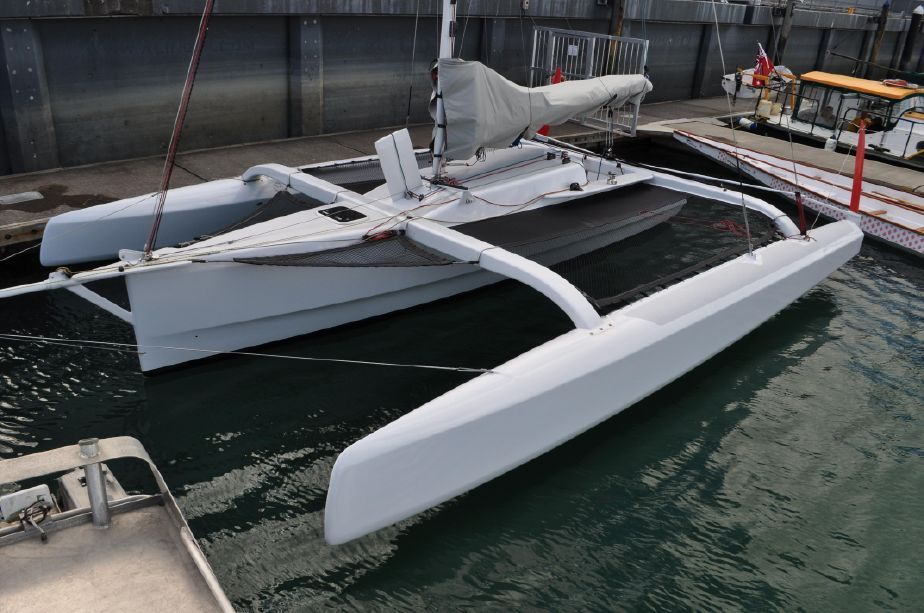 2009 Custom Tetzlaff/Melvin 8 5 Meter Racing Trimaran Sail New and