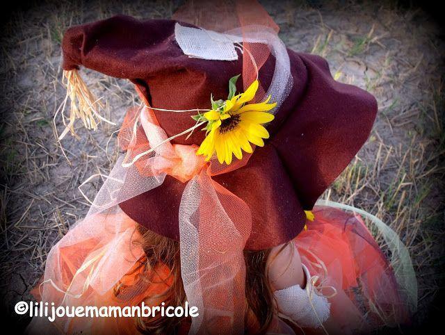 LILI JOUE MAMAN BRICOLE: TUTO COSTUME EPOUVANTAIL / CITROUILLE #epouvantaildeguisement LILI JOUE MAMAN BRICOLE: TUTO COSTUME EPOUVANTAIL / CITROUILLE #epouvantaildeguisement