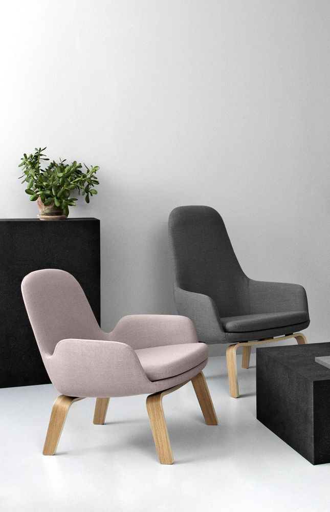 Normann Copenhagen Collection Wood Lounge Chairs room hint