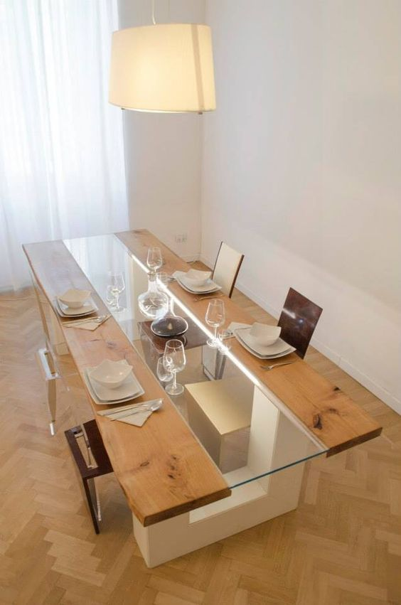Photo of 10 Stunning Contemporary Dining Tables To Make Every Dinner …