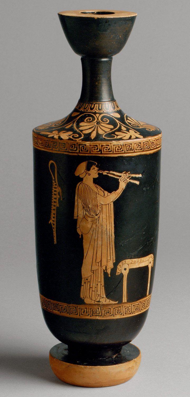 Terracotta lekythos oil flask attributed to the brygos painter terracotta lekythos oil flask attributed to the brygos painter period classical date reviewsmspy