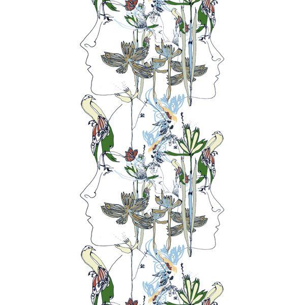 Satakieli fabric by Marimekko