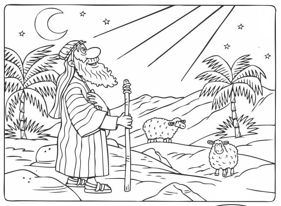 Resultado de imagen para LA HISTORIA DE ABRAHAM PARA PINTAR DIBUJOS ...