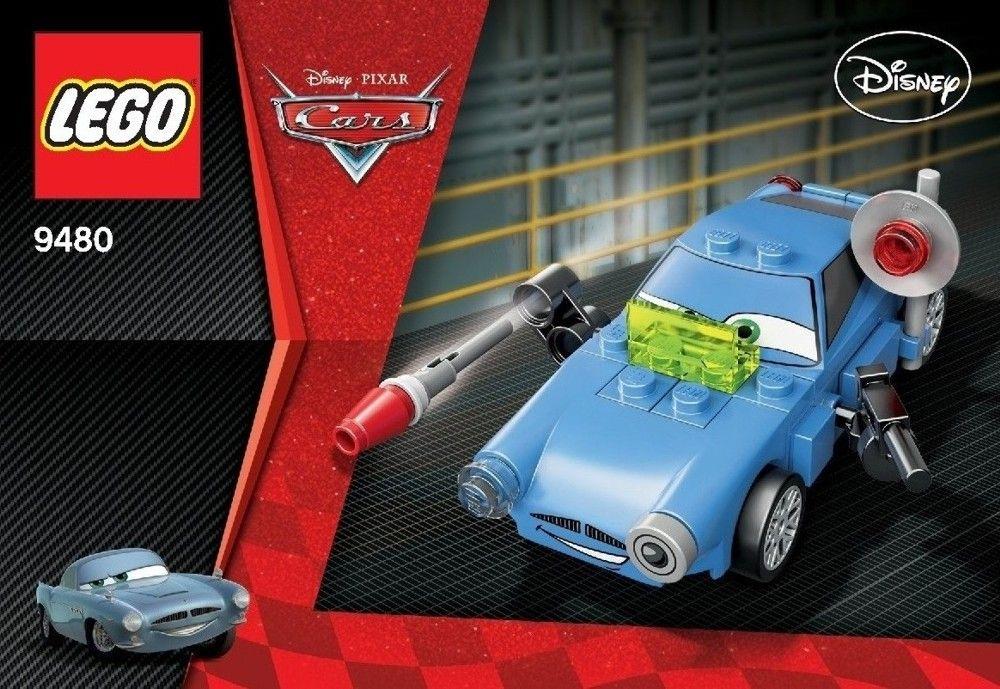 Cars Finn McMissile [Lego 9480] Lego, Lego