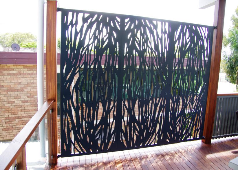 Aluminium privacy screen for outdoor area privacy Screens for outdoor areas