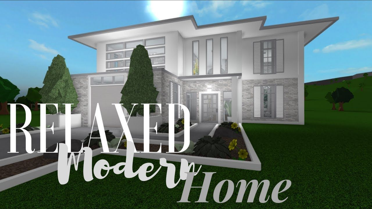 Modern House Bloxburg Youtube Modern House House Decor Modern Modern House Exterior