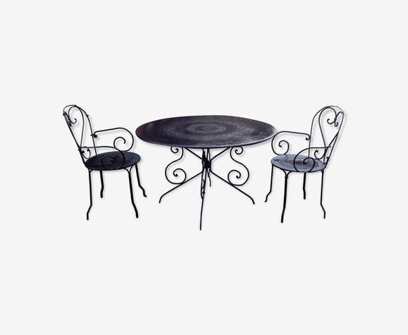 Table De Jardin Fer.Table Et Fauteuils En Fer Forge De Jardin In 2019 Tallulah