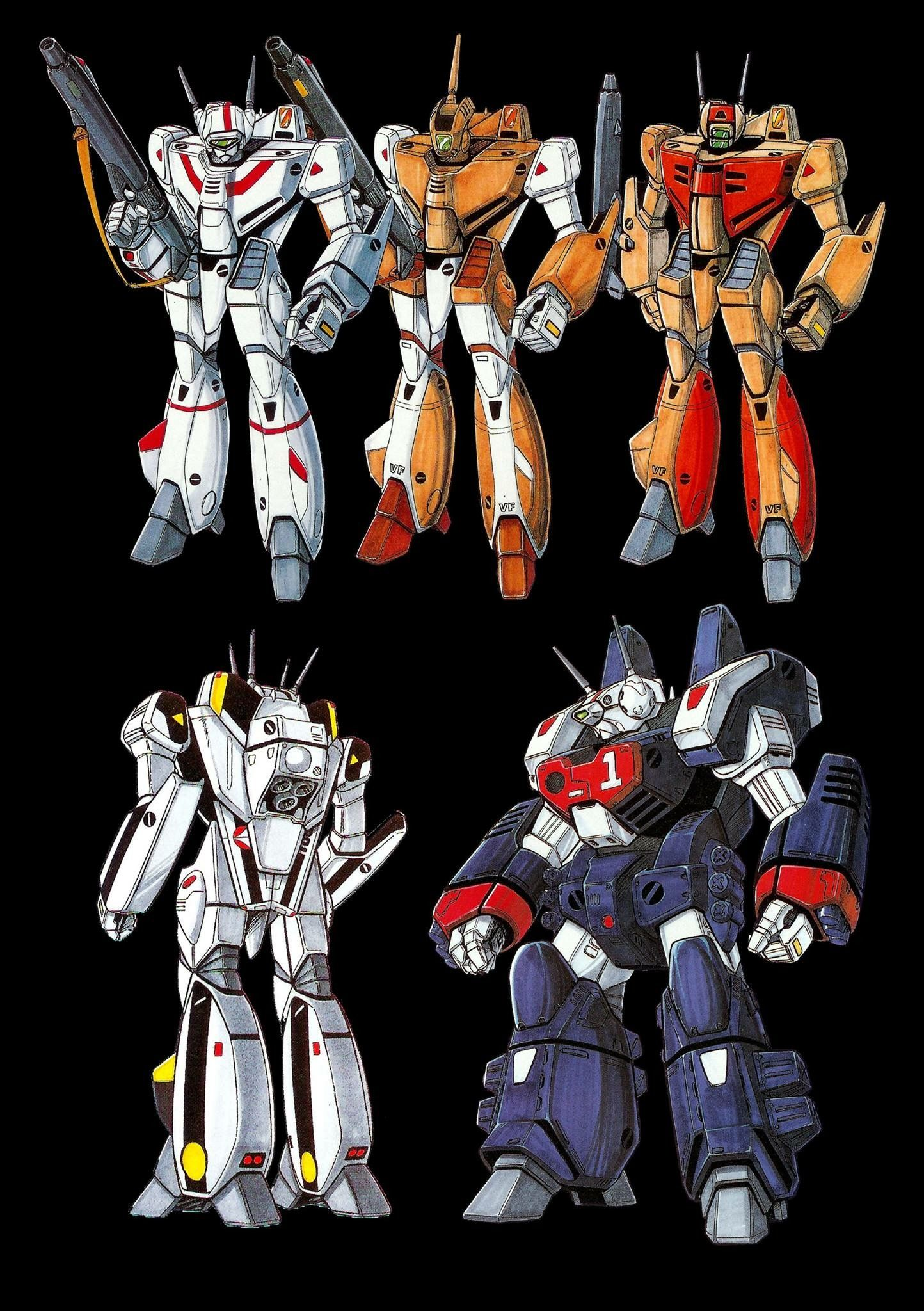 Macross Valkyries Robotech macross, Mecha anime, Robotech