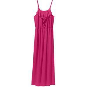 Faded Glory Women s Plus Size Ruffled Knit Maxi Dress with