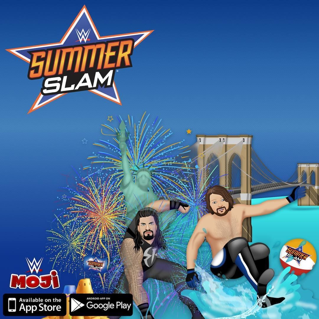 Ready for SummerSlam? Get the WWEmoji app and receive
