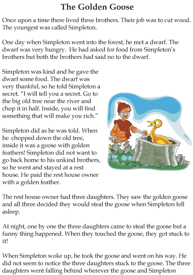 Hansel and gretel short story pdf