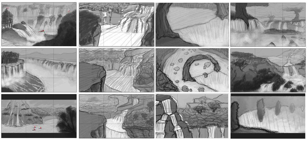 Environment Thumbnails by Jack-Eaves-Art.deviantart.com