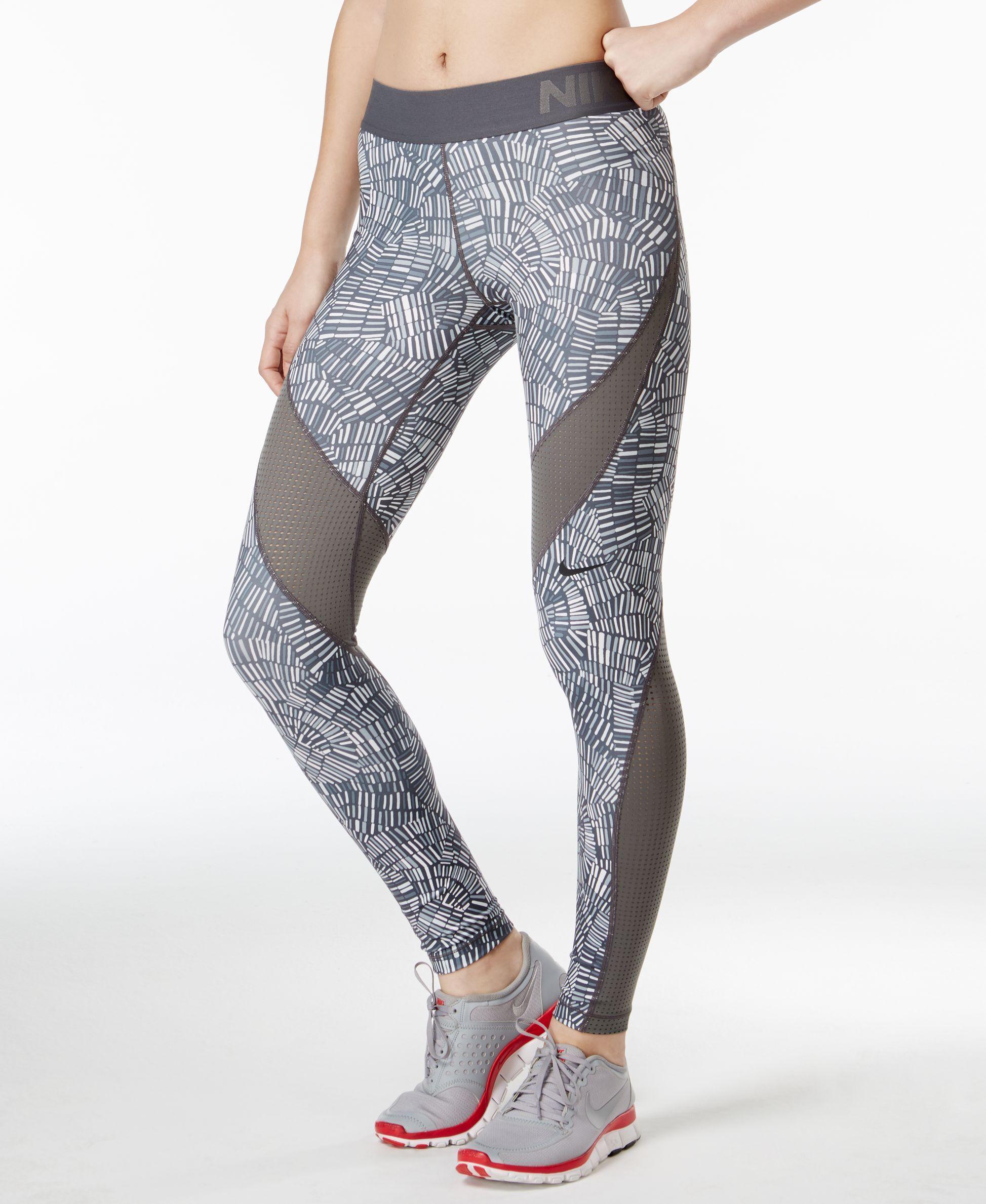 2ea6b76591203 Nike Pro Hypercool Dri-fit Tidal Multi Print Leggings | running ...