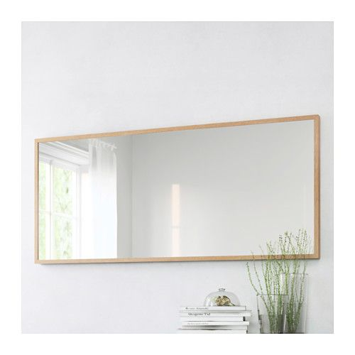 STAVE Mirror - Oak Effect, 70x160 Cm - IKEA