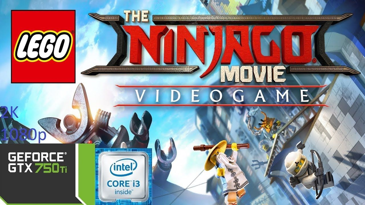 The LEGO Ninjago Movie Video Game GTX 750 TI Benchmark | Juegos ...