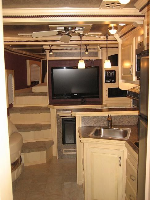 Bon DIY LQ Horse Trailer Conversion | Horse Trailer Living Quarters