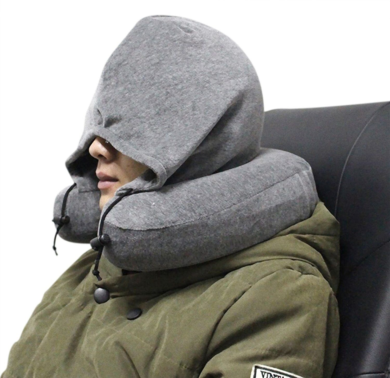 Travel Hoodie Pillow Hoodie with a