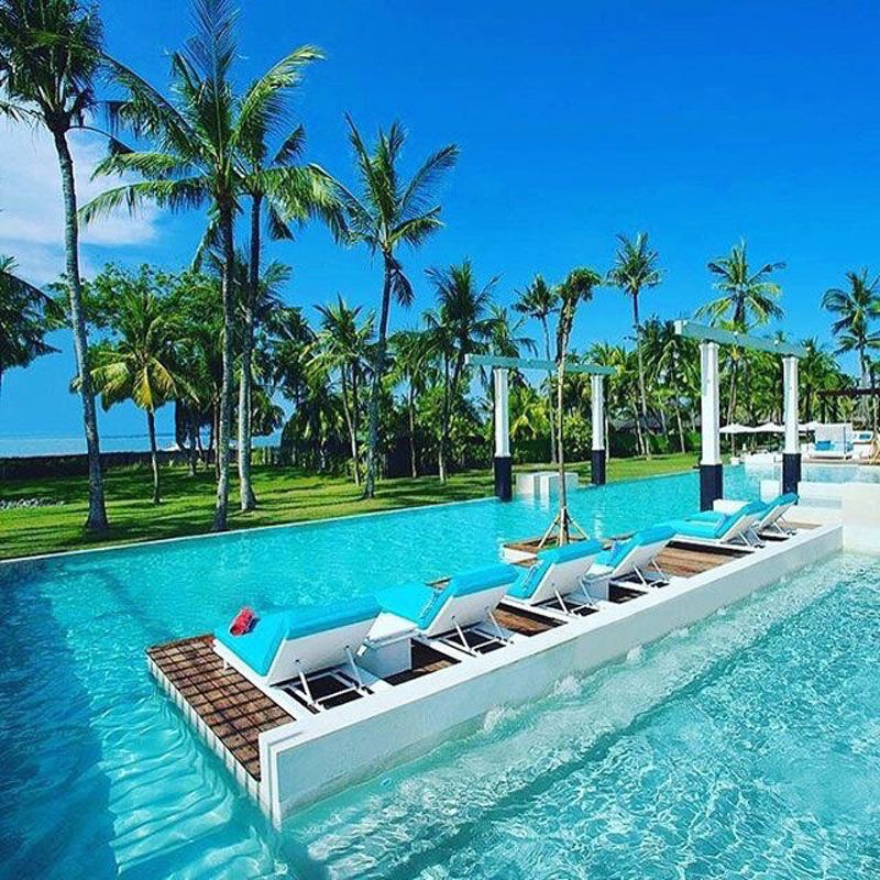 Club Med Bali Pool Places To Go Pinterest Club Med