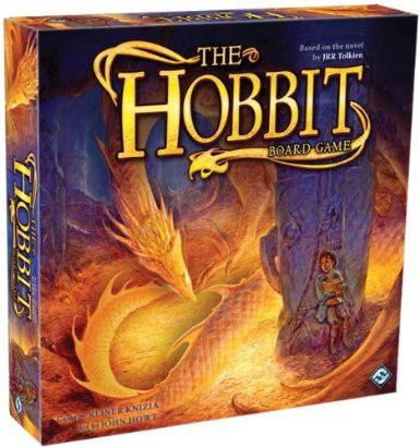 Amazon.com: The Hobbit Boardgame: Fantasy Flight Games (COR)/ Knizia Reine: Toys & Games