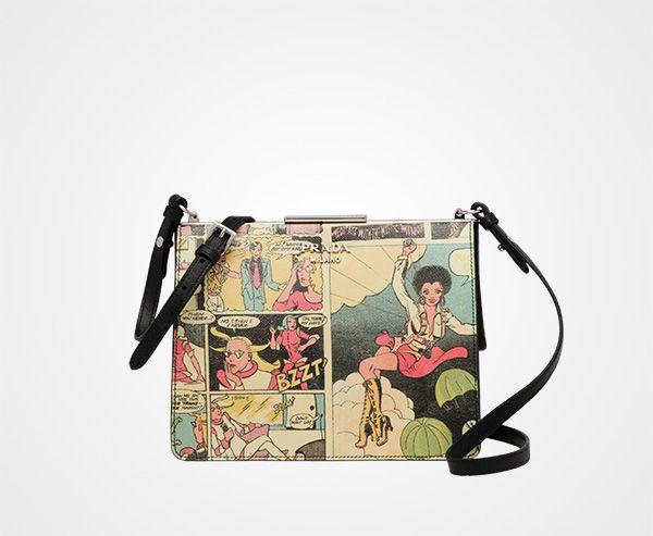 Prada Light Frame Saffiano leather bag  8d4d715ea4bec