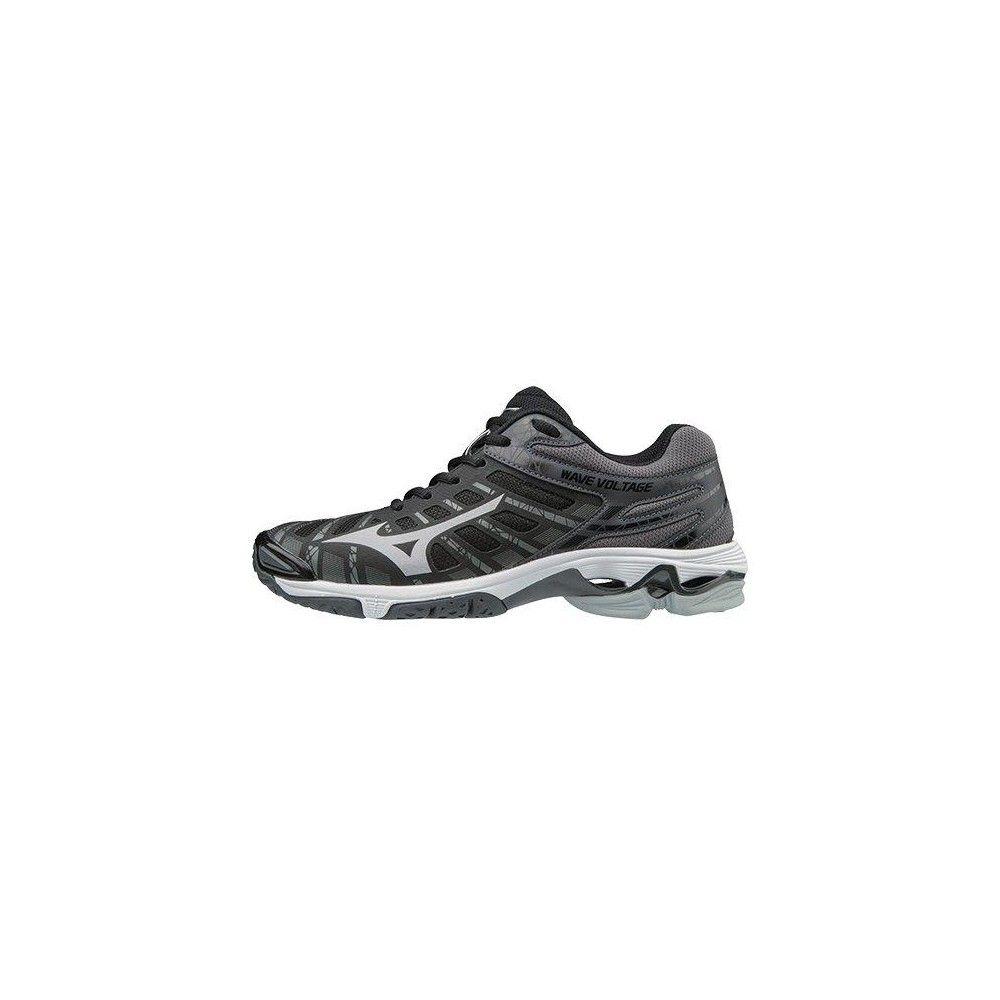 Mizuno Wave Voltage Women S Volleyball Shoe Womens Size 6 5 In Color Black Silver 9073 Volleyball Shoes Women Shoes Black Silver