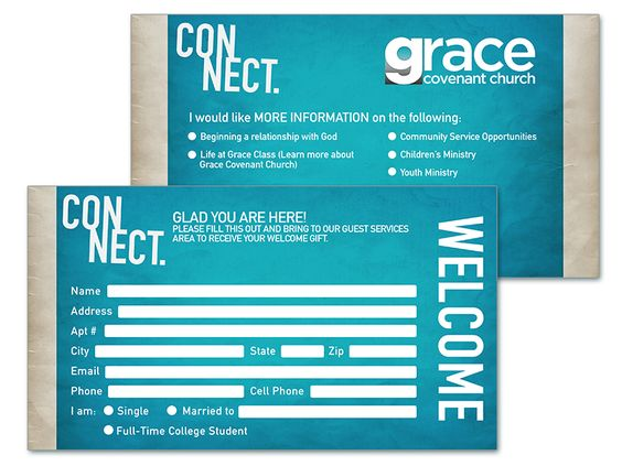 Church Visitor Cards Google Search Card Template Church Contact Card