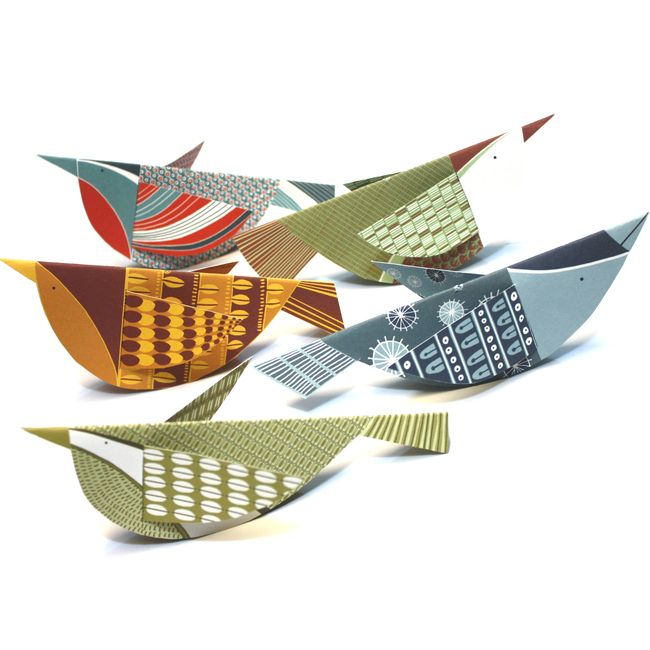 Alice Melvin's Bird Mobile Kit. Available to buy from Tate Shop.
