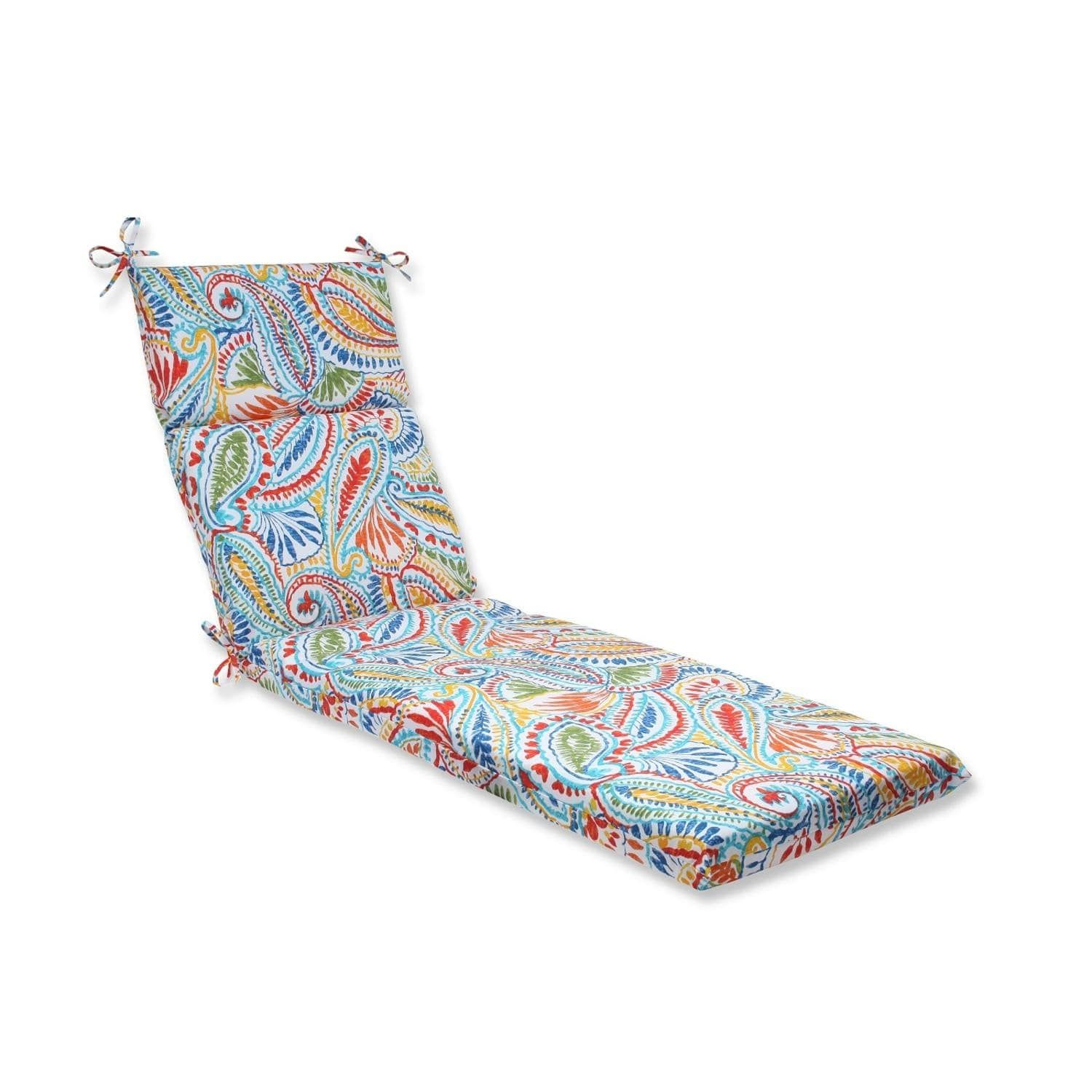 72 5 Quot Paisley Burst Outdoor Patio Chaise Lounge Cushion - Lounger Cushion Cheap