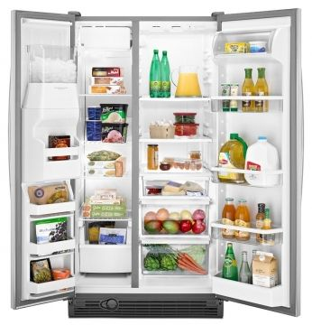 Maytag Side By Side Refrigerator With Store N Door Picture
