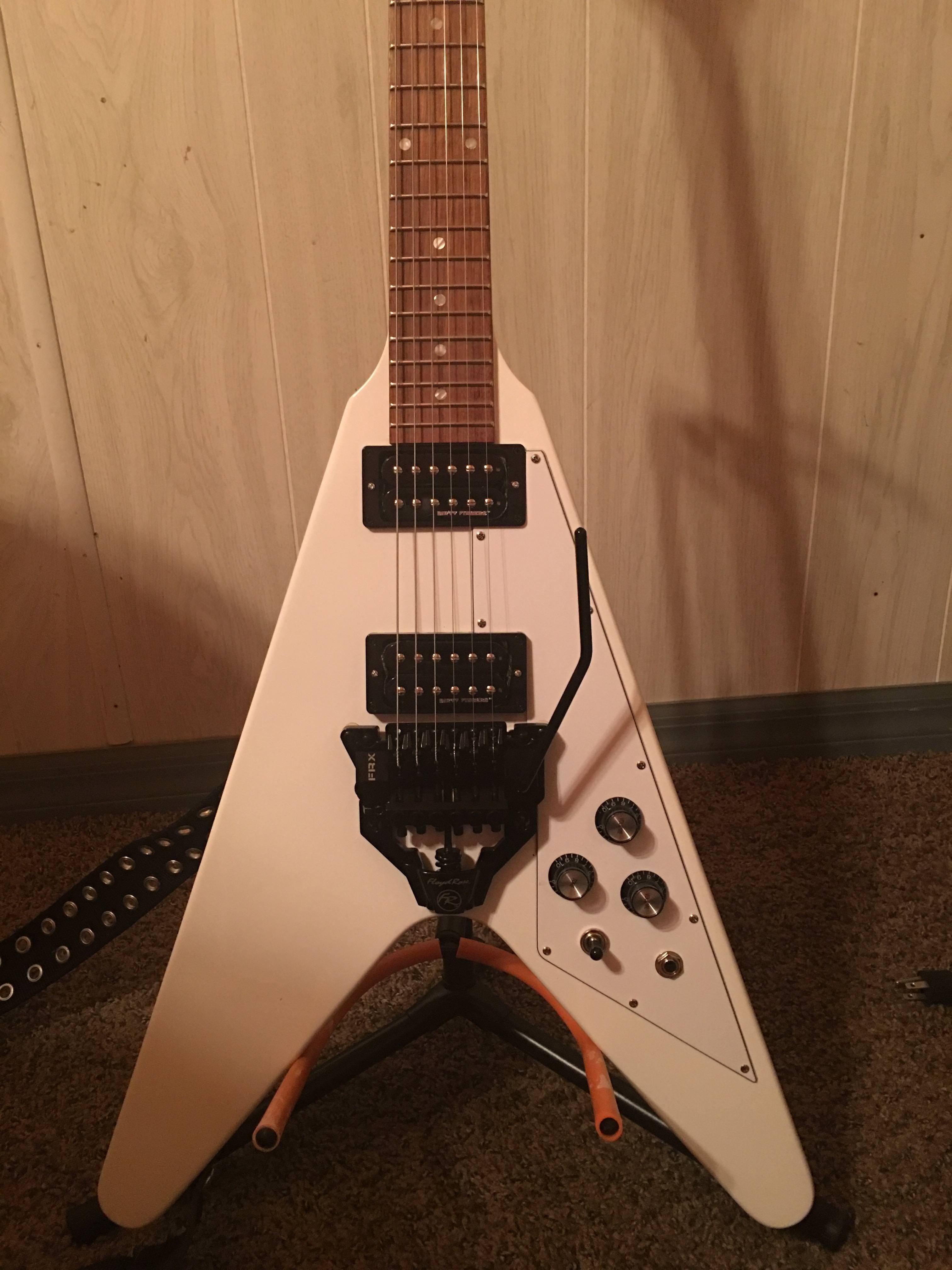 Put A Floyd Rose Tremelo On My Flying V Guitar Tech Pinterest Diagram